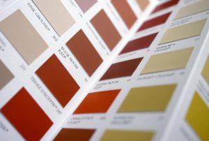 anyagminta színek